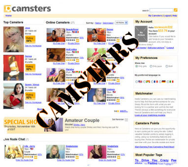 www.Camsters.com