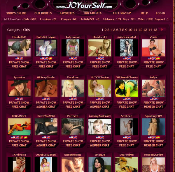 Joyourself Live Sex Cams with the prettitest camgirls who are ready to ...